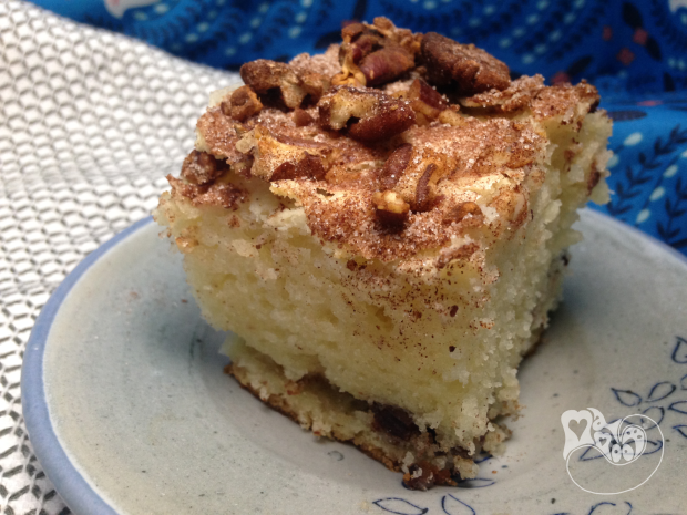 Heather's Cinnamon and Sour Cream Coffee Cake - MamootDIY.com