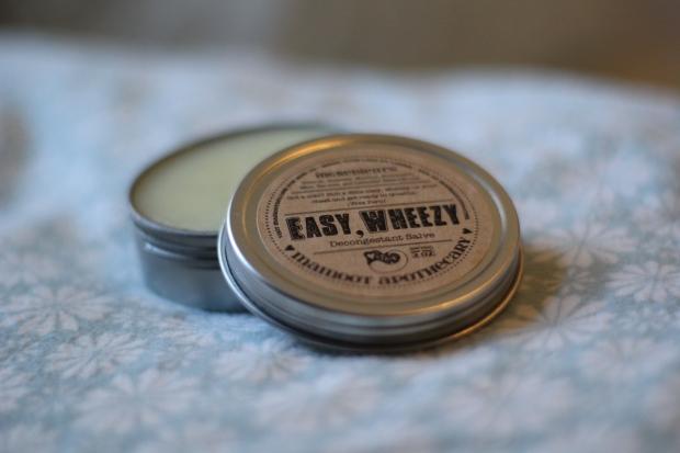 Easy, Wheezy! Decongestant Salve - MamootDIY.com